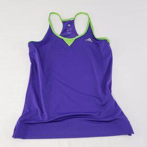 Purple Adidas Climacool tank